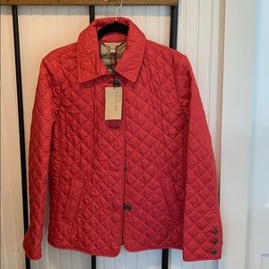 Quilted Burberry Coat